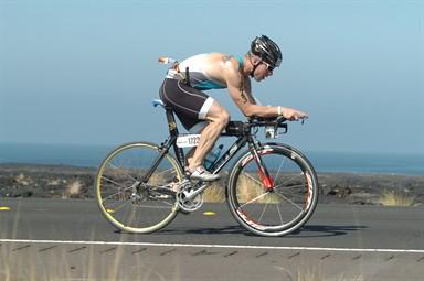 Aaron Davidson Kona bike shot
