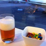 Lufthansa Senator Lounge JFK Snacks