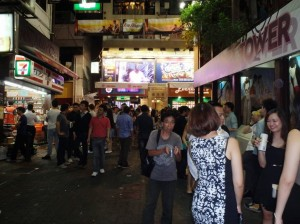 Hong Kong Night Market - Bars