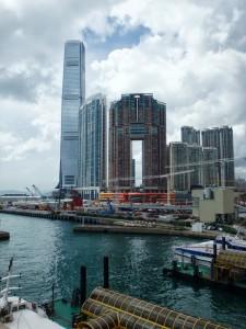 View of the Ritz-Carlton Hong Kong