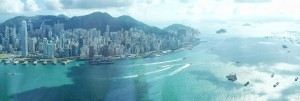 View from the Ritz-Carlton Hong Kong