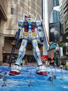 Gundam in Hong Kong