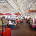 Thailand Night Market - Indoor Shopping