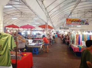 Thailand Night Market - Indoor Shopping