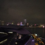 Kowloon from Hong Kong Convention Center at Night