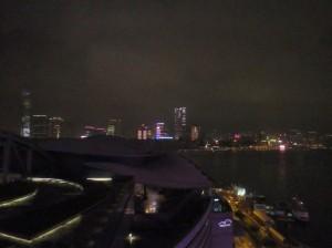 Kowloon from Hong Kong Convention Center at Night