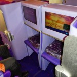 Thai Airways A380 Business Entertainment