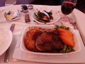 Thai Airways Beef