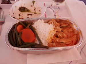 Thai Airways Chicken