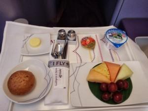 Thai Airways Fruit Platter