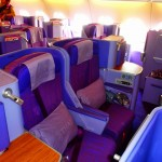 Thai Airways A380 Business Seats