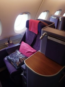 Thai Airways A380 Business Seat