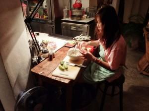 Nang Gin Kui - Dinner Prep 2